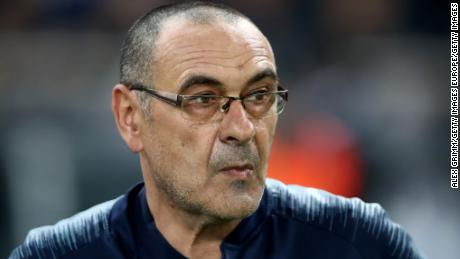 Chelsea  beat Arsenal to win the Europa League under Sarri.