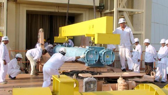 Iran announced it increased its uranium enrichment.