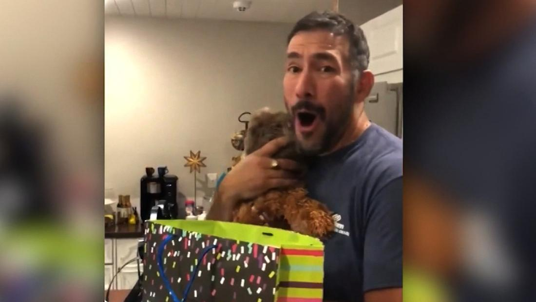 Father's day gift has big message for unsupecting dad