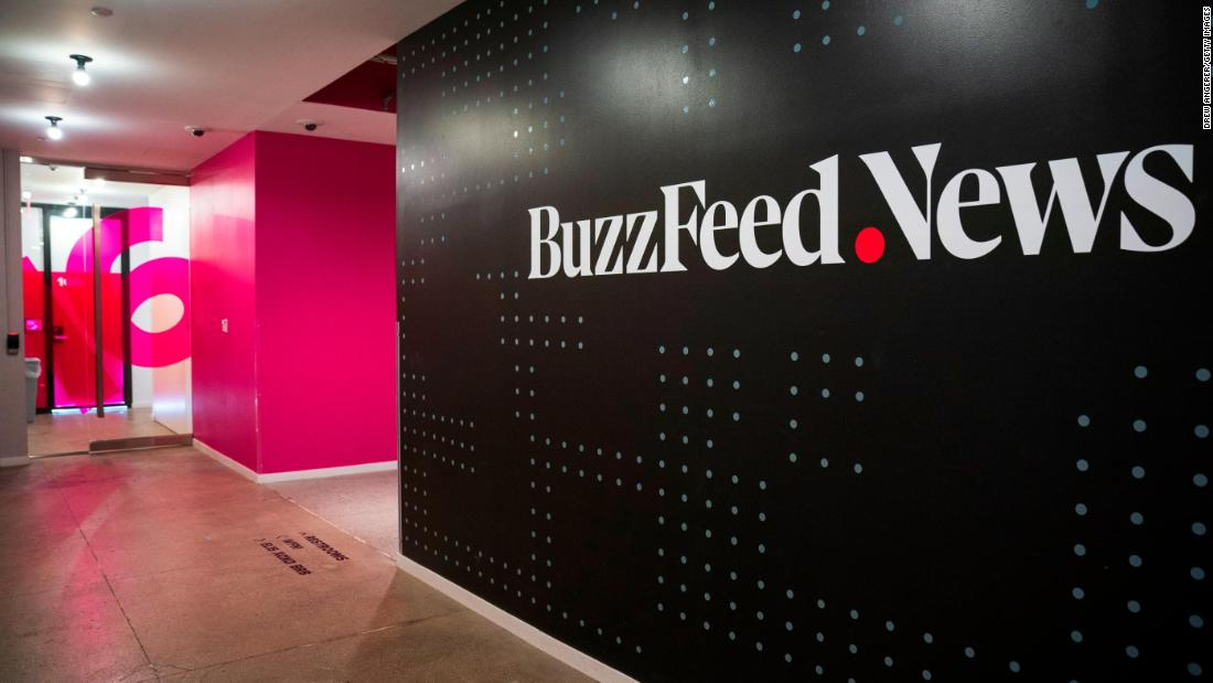 BuzzFeed News staffers stage walkout in effort to compel management to recognize union