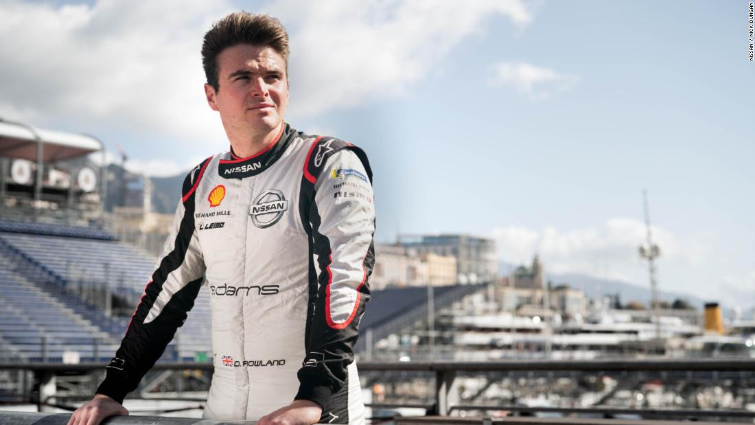 Formula E: Oliver Rowland finds it's his time to shine in electric racing series