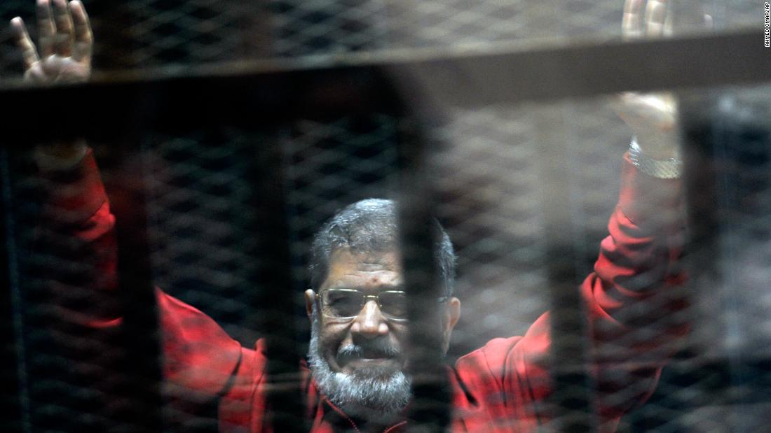 Mohamed Morsy's death in a glass cage speaks volumes about Egypt