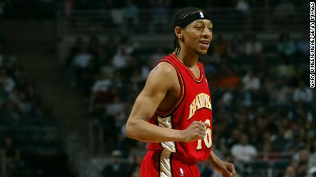 Anthony Grundy briefly for the Atlanta Hawks during the 2005-2006 season.