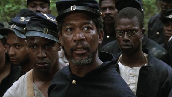 """""""Glory"""" For many, this 1989 drama from Edward and Richard Zwick was like an incredibly well-produced history lesson, says star Morgan Freeman. """"People had no idea that there were black soldiers fighting for the Union in the Civil War,"""" Freeman says. And if viewers didn"""