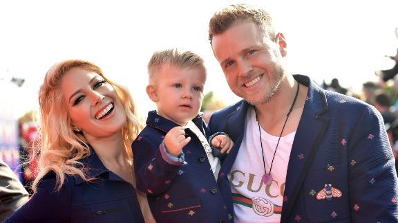Heidi Montag, Gunner Stone and Spencer Pratt