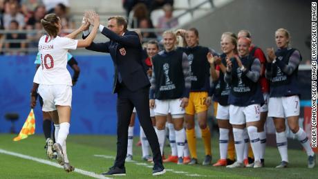 Caroline Graham Hansen scored a penalty inside the first five minutes