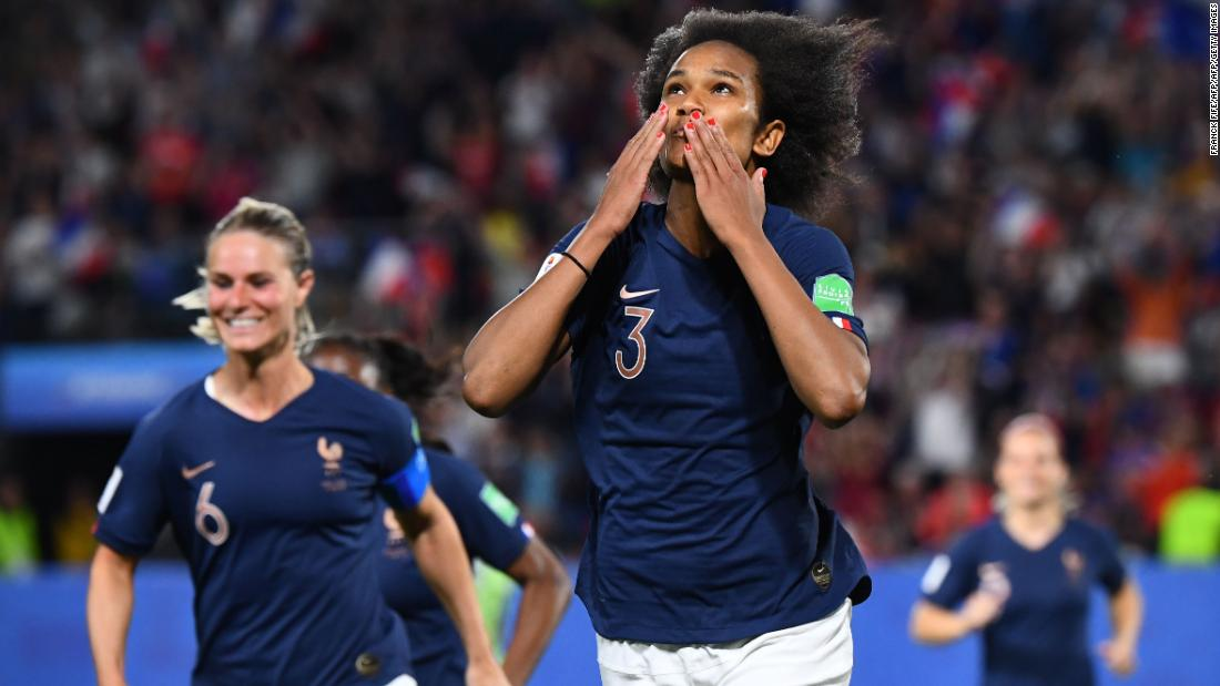 France defeats Nigeria in dramatic World Cup encounter