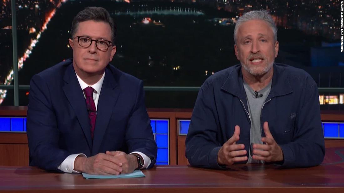 Jon Stewart responds to Mitch McConnell over 9/11 victim fund: 'Meet with them'