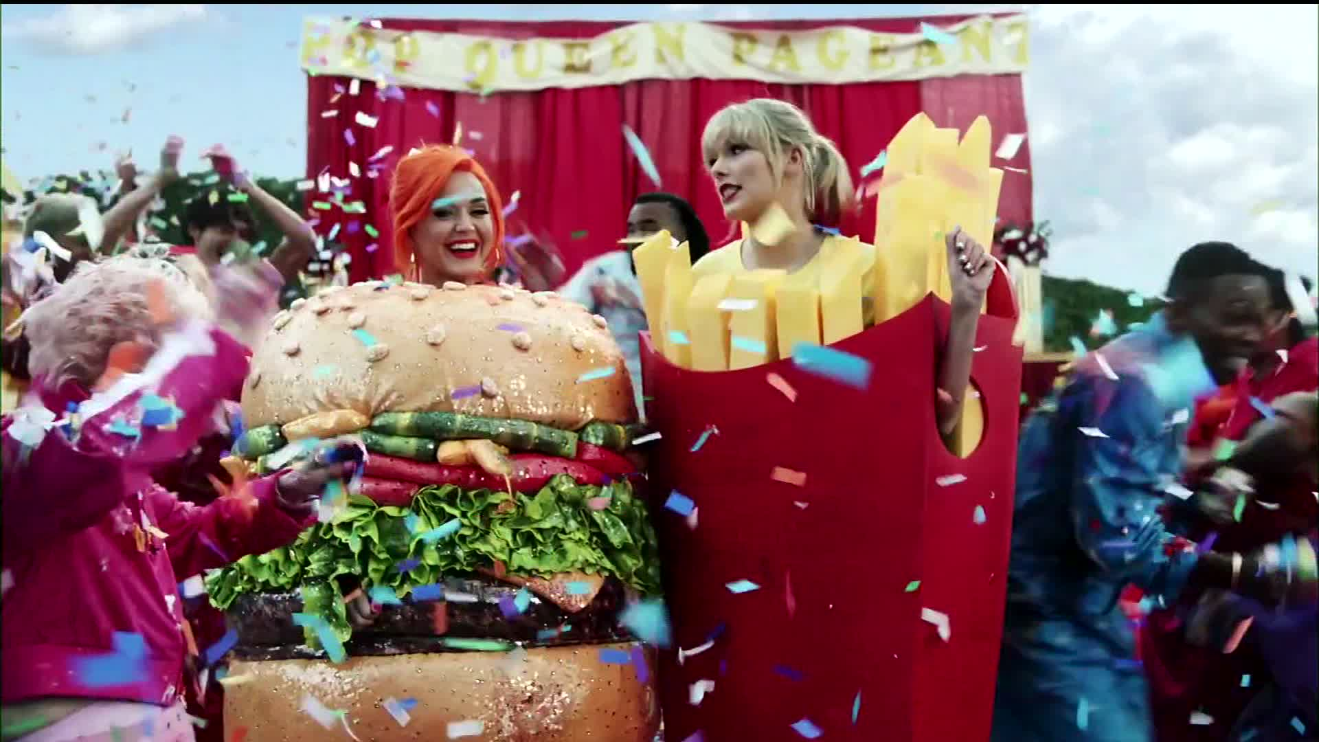 Taylor Swift Katy Perry Reunite In New Music Video Cnn Video