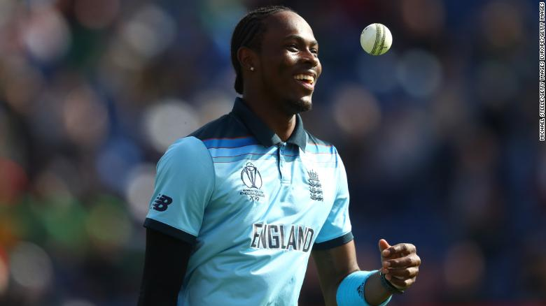 Jofra Archer has become a key part of the England team at the Cricket World Cup.