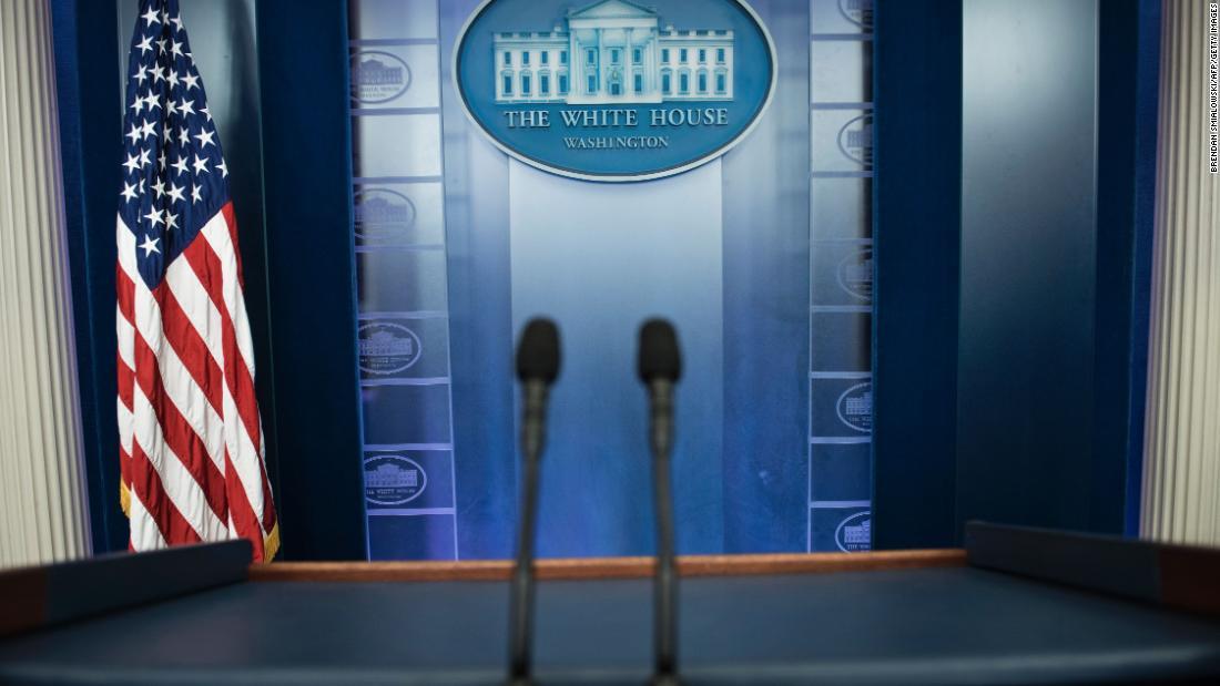 Here's what White Dwelling press secretary Stephanie Grisham has to claim about no longer keeping press briefings thumbnail
