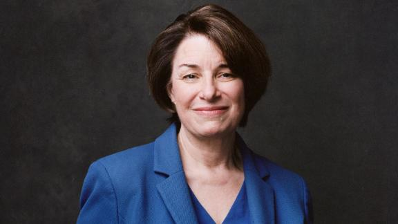 US Sen. Amy Klobuchar poses for a portrait in Washington in January 2019. She has been in Congress since 2007.