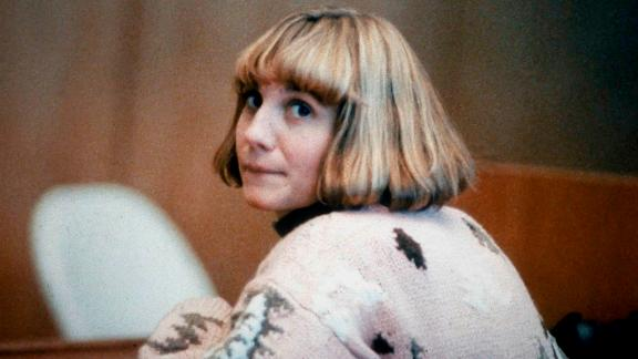 Carolyn Warmus, seen during her trial on January 22, 1991 in New York's Westchester County Court.