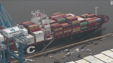 MSC Gayane was seized by the US Customs and Border Protection Agency after the discovery of 20 tons of cocaine.