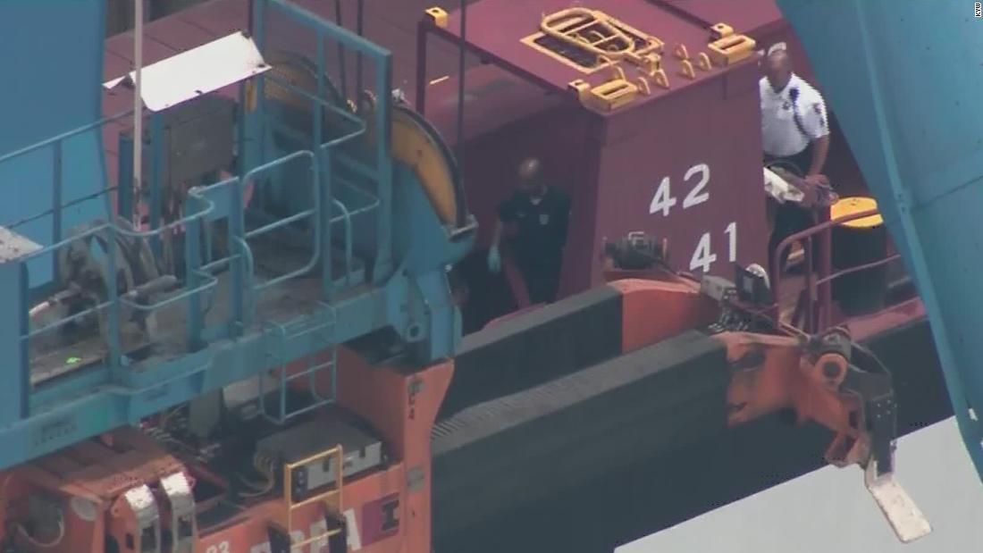 Cargo ship owned by JPMorgan Chase seized by US with 20 tons