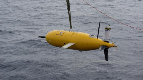 Boaty McBoatface's undertook its first mission in April 2017
