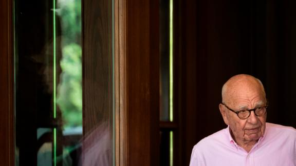 SUN VALLEY, ID - JULY 10: Rupert Murdoch, chairman of News Corp and co-chairman of 21st Century Fox, arrives at the Sun Valley Resort of the annual Allen & Company Sun Valley Conference, July 10, 2018 in Sun Valley, Idaho. Every July, some of the world's most wealthy and powerful businesspeople from the media, finance, technology and political spheres converge at the Sun Valley Resort for the exclusive weeklong conference. (Photo by Drew Angerer/Getty Images)