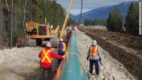 There will be 600-plus miles of new pipeline next to the current infrastructure when the project is done.
