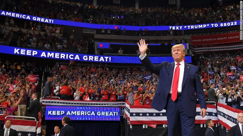 Watch Trump kickoff his 2020 campaign