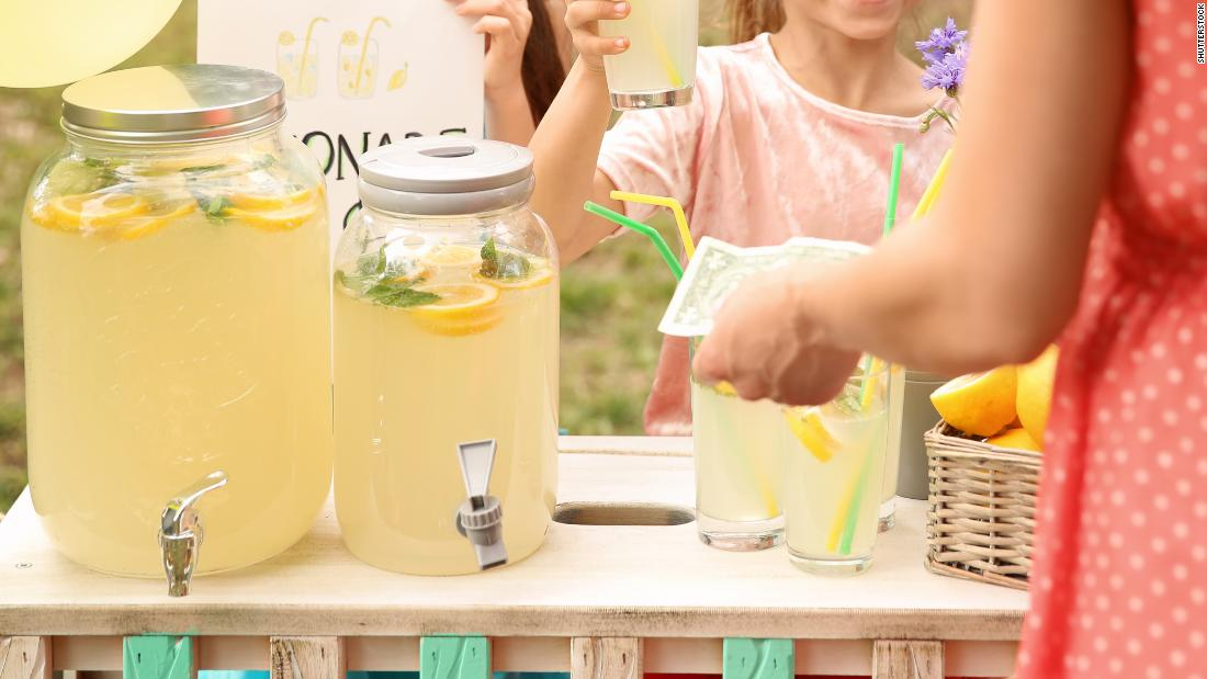 Only 14 states allow unpermitted lemonade stands. Country Time wants the others to do the same