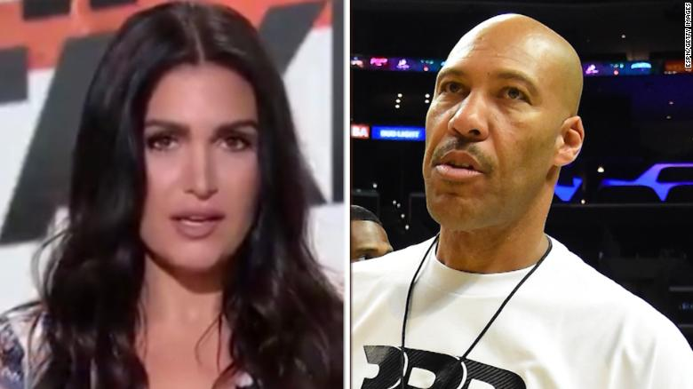 LaVar Ball's 'inappropriate' remark to female ESPN host