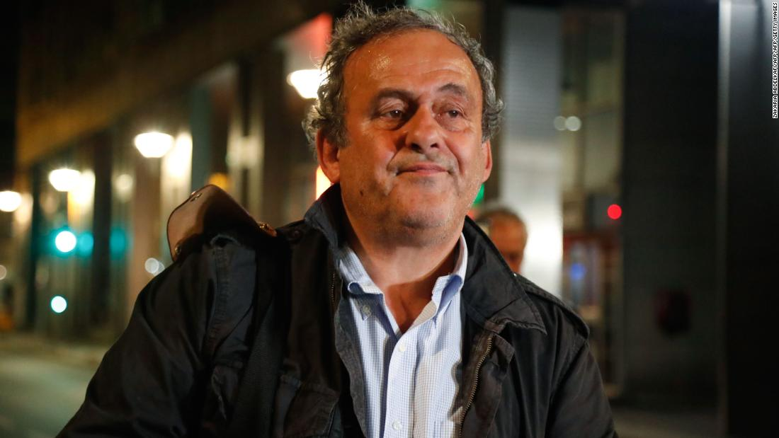 Michel Platini 'hurt' by questioning over Qatar 2022 World Cup corruption allegations