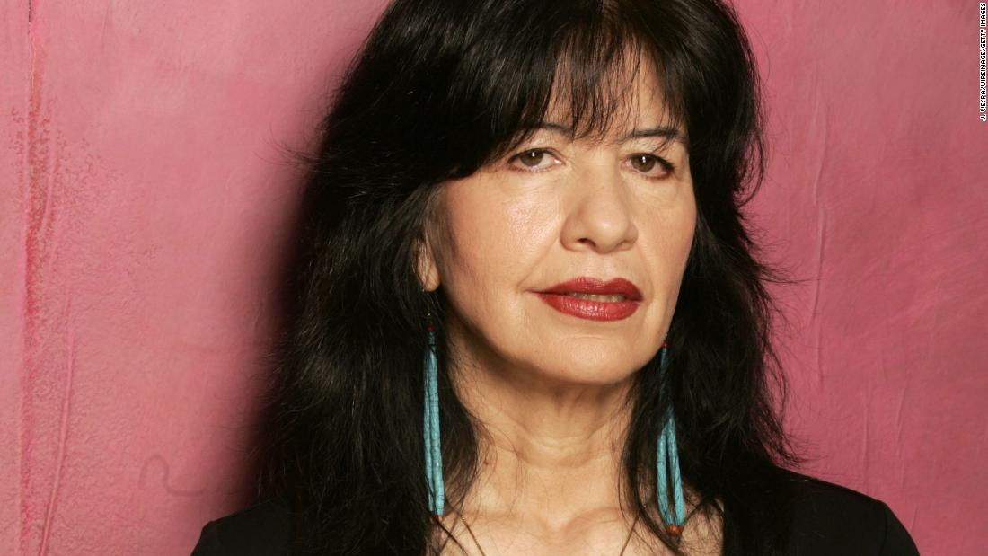 Joy Harjo is named US Poet Laureate. She's the first Native American to hold the title