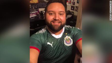 Jessy Pacheco's family reportedly fears he was abducted after he disappeared in Guadalajara, Mexico.