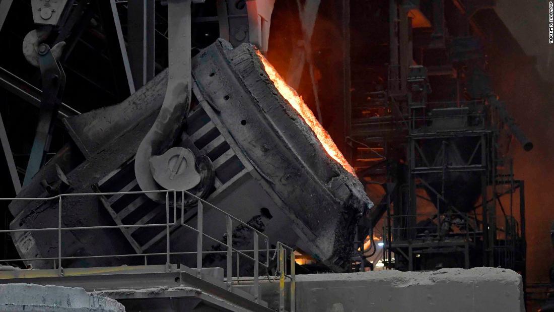 US Steel is idling plants, despite tariffs designed to save