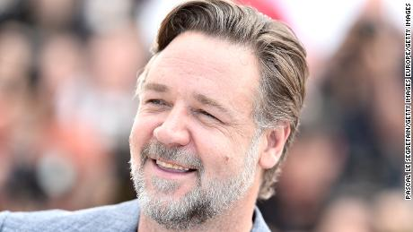 Russell Crowe is seen at the Cannes Film Festival in May 2016.