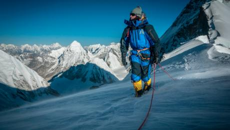 Ballinger has spent 12 seasons as a guide on Everest.