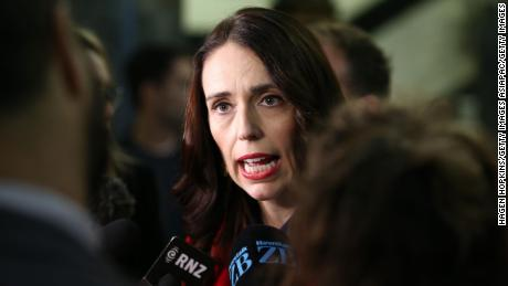 Prime Minister Jacinda Ardern speaks to media on May 30, 2019 in Wellington, New Zealand.