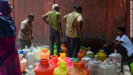 India water crisis: Protests and clashes in Chennai as shortage
