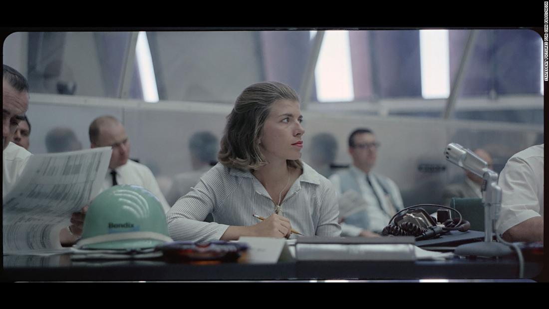 Only woman in Apollo 11 firing room: 'She would cut you to pieces'