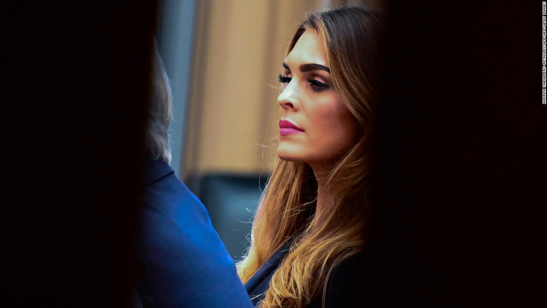 House Judiciary asks Hope Hicks to clarify testimony about Stormy Daniels