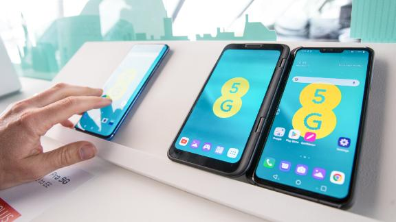 LG's V50 ThinQ smartphone is one of a growing number of devices that are 5G compatible.