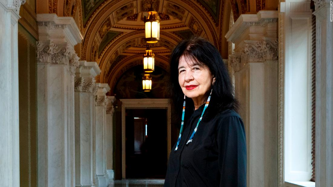Why America's first Native American poet laureate gives me hope