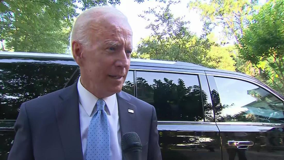 Biden defends comments about segregationist senators: 'There's not a racist bone in my body'
