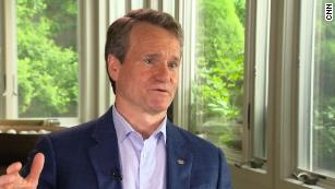 CNN Business exclusive: Bank of America CEO warns about excessive corporate debt
