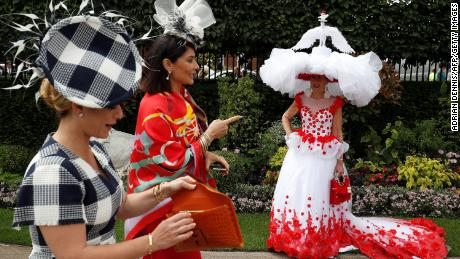The most impressive hats at Royal Ascot.