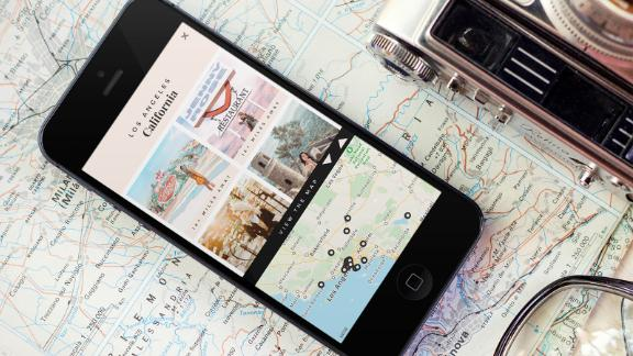 The Depalo app helps users find Instagram-worthy hot spots in cities.