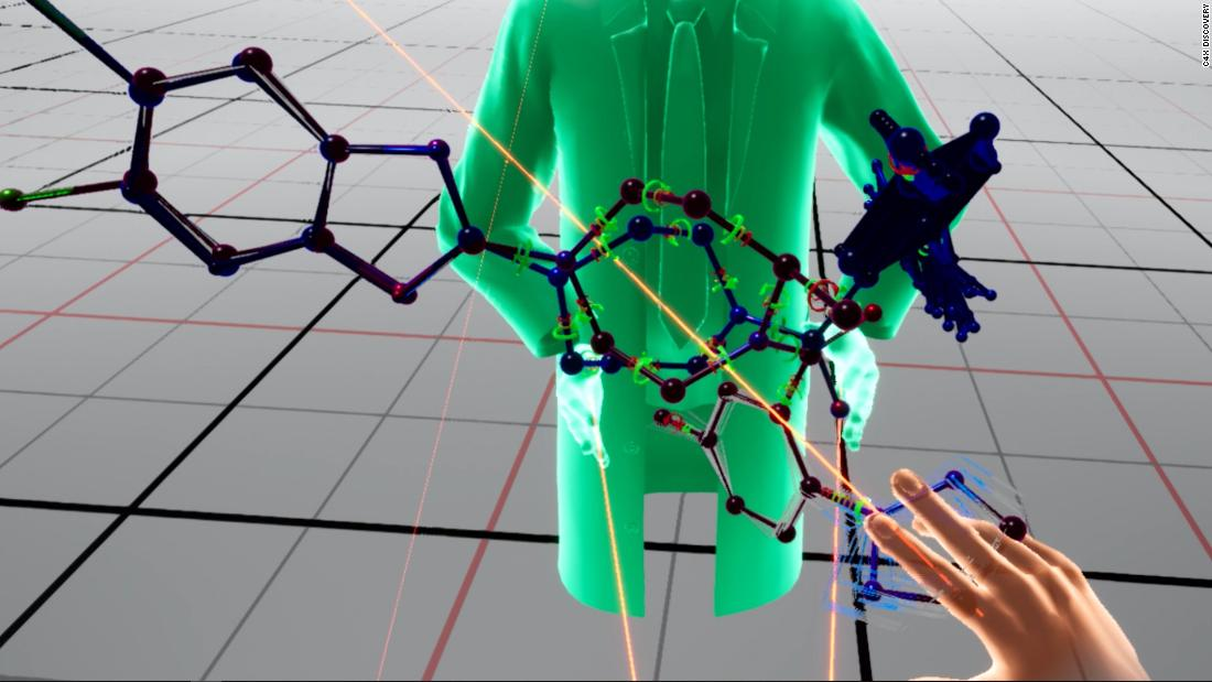 Virtual reality is helping scientists discover new drugs