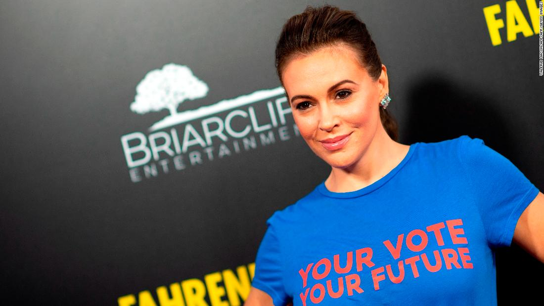 Alyssa Milano: I met with Ted Cruz. This is why