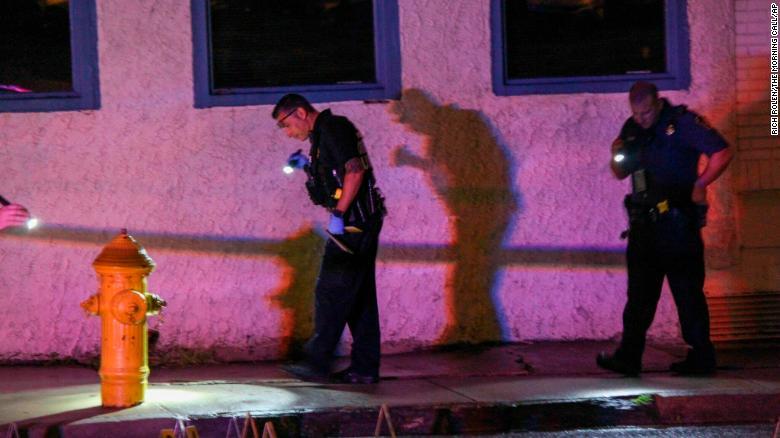 10 people shot outside nightclub in Allentown