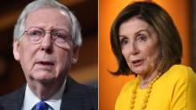 Pelosi-McConnell fight sets up a clash of Washington's titans
