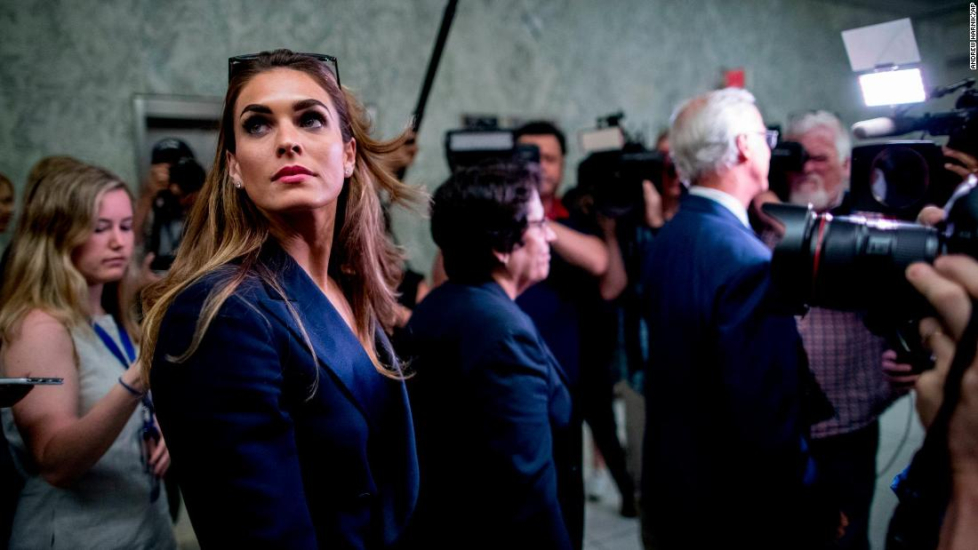 Read: Transcript of Hope Hicks testimony to the Judiciary Committee