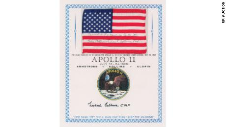 Parts of the story of Apollo 11 are auctioned for the anniversary of the moon landing [19659042] Parts of the story of Apollo 11 are auctioned for the anniversary of the moon landing.