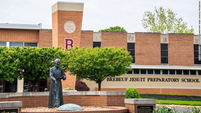 Escola preparatória jesuíta de Brebeuf em Indianápolis.