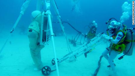 work during NEEMO 23
