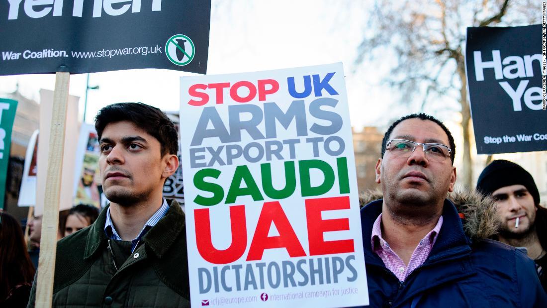 UK arms sales to Saudi Arabia unlawful, court rules as war in Yemen rages on